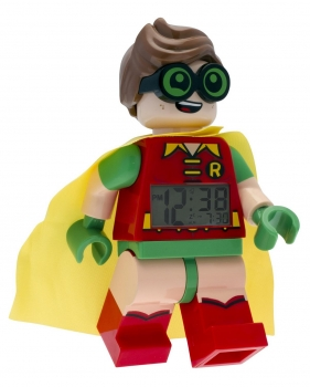 Lego Wecker Batman Movie Robin Kinderwecker Digital 08-9009358