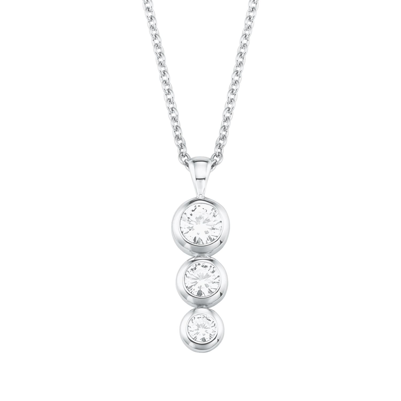 s.Oliver Jewel Damen Kette Halskette Silber 2026950 Sternzeichen Löwe