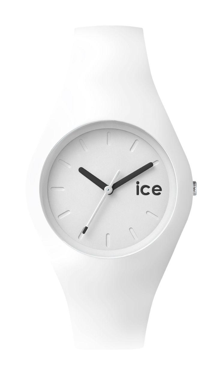 ice watch uhr damenuhr ice ola wei white unisex 10 bar. Black Bedroom Furniture Sets. Home Design Ideas