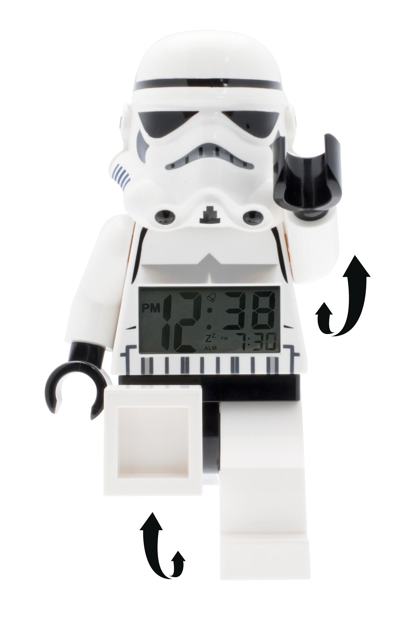 lego wecker star wars stormtrooper 08 9002137 juwelier24. Black Bedroom Furniture Sets. Home Design Ideas