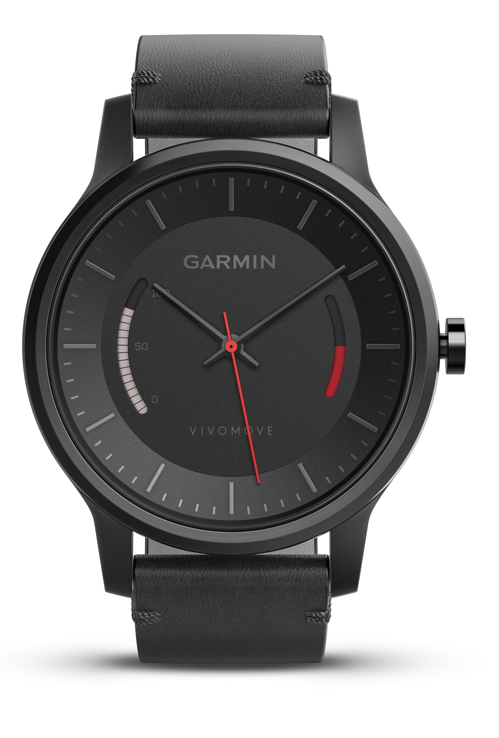 garmin uhr vivomove activity fitness tracker sport schwarz. Black Bedroom Furniture Sets. Home Design Ideas