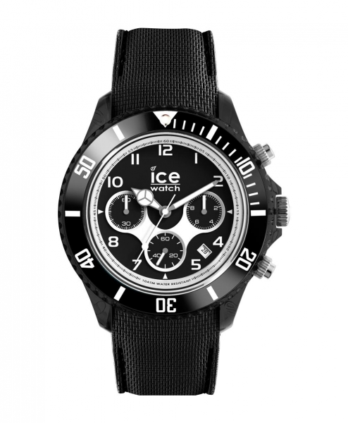 ice watch dune herrenuhr uhr chronograph schwarz big 45mm. Black Bedroom Furniture Sets. Home Design Ideas
