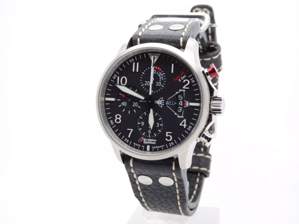 junkers edition 3 eurofighter limited edition automatik chronograph 6826 5 juwelier24. Black Bedroom Furniture Sets. Home Design Ideas