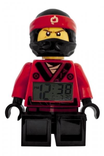 lego wecker ninjago ninja kai rot kinderwecker digital 08. Black Bedroom Furniture Sets. Home Design Ideas