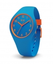 Ice Watch ola kids Uhr Small Kinderuhr Damenuhr Blau Orange 10 Bar 014428